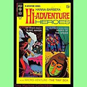 1969 Hanna-Barbera Hi-Adventure Heroes Comic, No. 2, Marked 50% Off