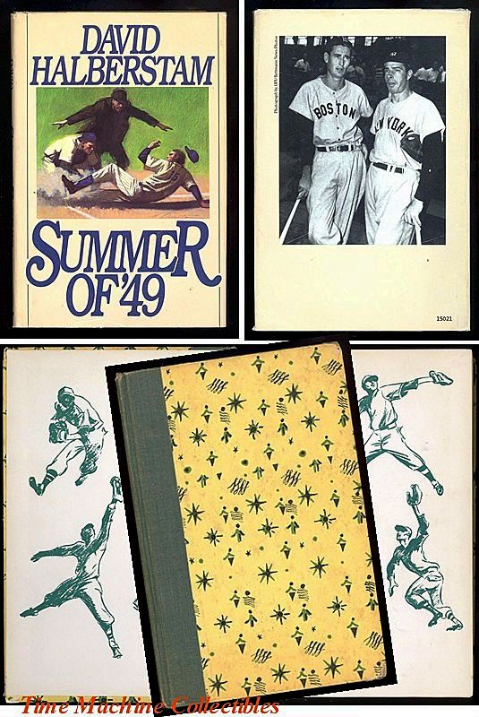 1951 The Real Book About Baseball & 1989 The Summer of '49 Book