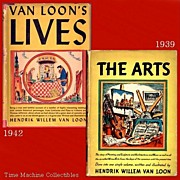 1937 The Arts & 1942 Van Loon Lives Books, Marked Over 50% Off