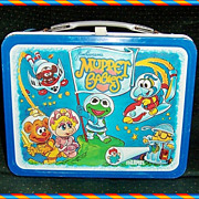 1985 Muppet Babies Metal Lunchbox by Thermos