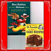 1948 Brer Rabbit's and 1952 Kate Smith Cookbooks