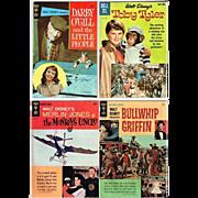 Four Walt Disney Movie Style Comic Books