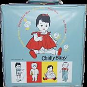 1962 Mattel Chatty Baby Case