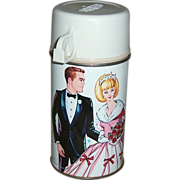 1967 Campus Queen Metal Thermos Bottle