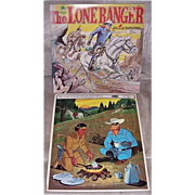 1967 Lone Ranger Puzzle & 1978 The Lone Ranger Record Album