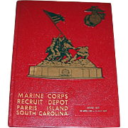 1986 Marine Corps Recruit Depot Camp Yearbook, Series 1052, Parris Island, SC