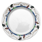 "Illinois Central Railroad ""Pirate"" China Dinner Plate"