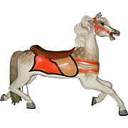 Scarce Circa 1900 C. W. Parker Abilene Carousel Horse Full Size Jumper - PRICE is NEGOTIABLE