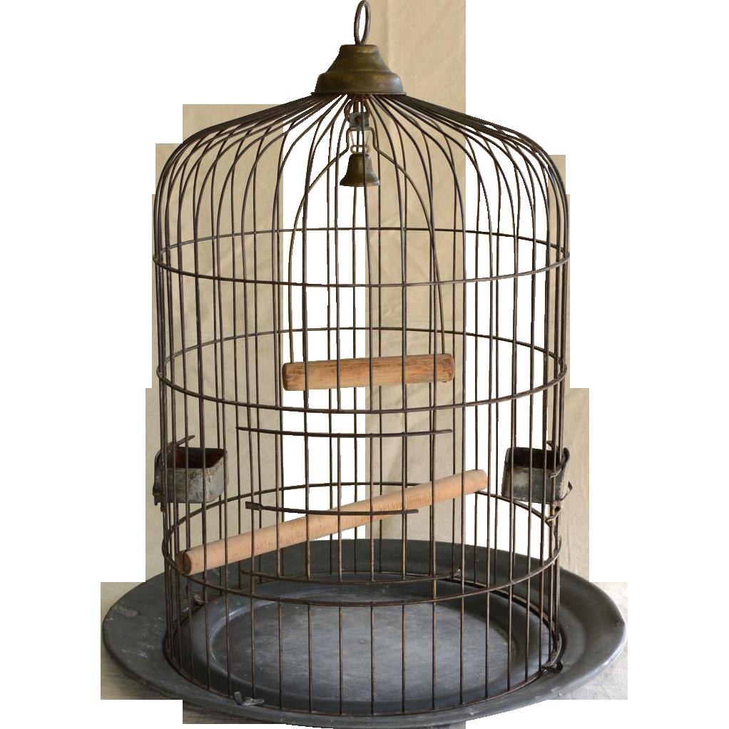 Large Antique Birdcage  O.Lindemann & Co  - Bird Cage