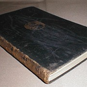 "Gilded Leather Bound Book ""Farewell Miss Julie Logan"" Barrie"