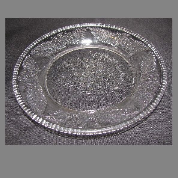 "EAPG Dessert Plate (6""), BARBERRY, (6 Available)"
