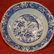 Nice Blue Transferware Bowl AQUILA H.H.&G. CA. 1920-30