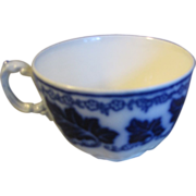 Lovely Flow Blue Teacup, NORMANDY, Johnson Bros.