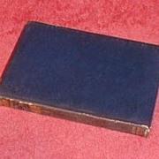 """Blue Leather Bound Book, """"WAVERLEY"""" by Sir Walter Scott"""