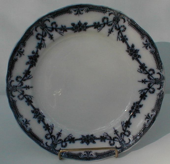 Lovely Flow Blue Salad Plate, ALEXIS, Adderleys