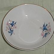 Lovely Bluebird China Berry Bowl (Nappy) C.C. Thompson Pottery Company