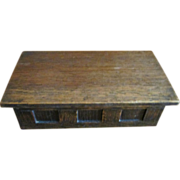 SALE Oak Center Panel Box C:1900