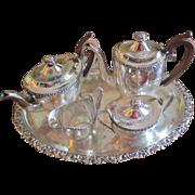 Ellis Barker Tea/Coffee Set With Tray