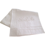 Set 6 Italian Linen Bath Towels C:1950