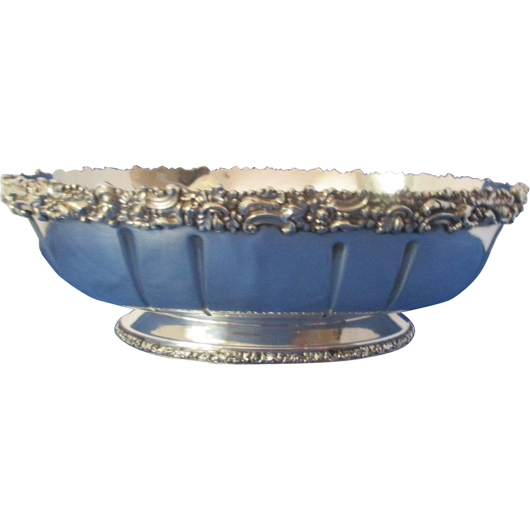 Ellis barker oval centerpiece bowl from topdraw on ruby lane