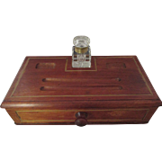 English Victorian Ink Stand/Writing Box C:1890