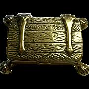 English Brass Snuff Box