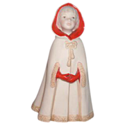 "Cybis Porcelain Figurine ""Little Riding Hood"""