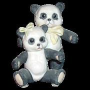 "Cybis Porcelain Figurine ""Panda Bears"""