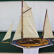 Yacht With Sails