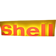 Lighted Shell Sign