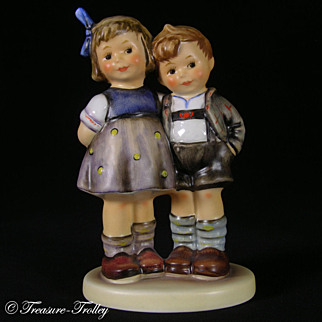 SALE Hummel 449 The Little Pair MINT In Box Exclusive Edition COA Retired VALENTINE'S DAY SALE