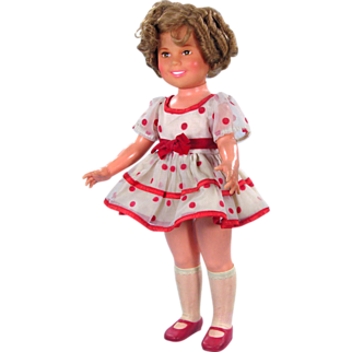 SALE Shirley Temple 1972 With Original Outfit VALENTINE'S DAY SALE