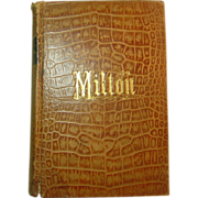 The Poetical Works of John Milton, A New Edition, Leather