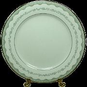 Noritake China, Japan, #6243 Margaret Pattern, 10 1/2 Dinner Plate, 1961-1973