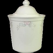 Pfaltzgraff USA, Wyndham Floral Pattern, Flour Canister