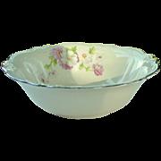 Homer Laughlin China ~ Virginia Rose ~ Fluffy Rose #1 ~ Vegetable Bowl