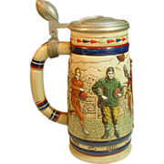 Avon ~ Collectible Stein ~ Football 1900-1980 ~ 1983