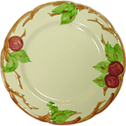 """Franciscan China, Apple Pattern, Dinner Plates, 10 1/2"""", U.S.A."""