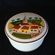 Villeroy & Boch Design Naif Luxembourg Vitro Porcelain Lidded Candy Dish