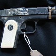 Vintage Kilgore Mountie Metal Toy Cap Gun