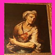 Superb 17thC Dutch Master Gerrit van Honthorst 1592-1656 . Museum Quality!