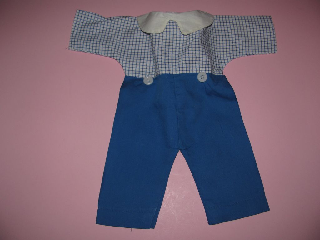 Vintage Raggedy Andy Doll Outfit