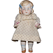 German Limbach Chubby Bisque Girl Doll