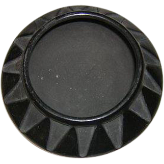 SALE Signed Juanita Poly Chrome  Pot BLACK