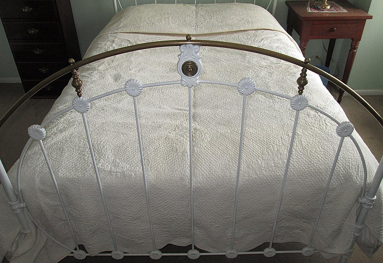 Victorian White-on-White Wedding Quilt