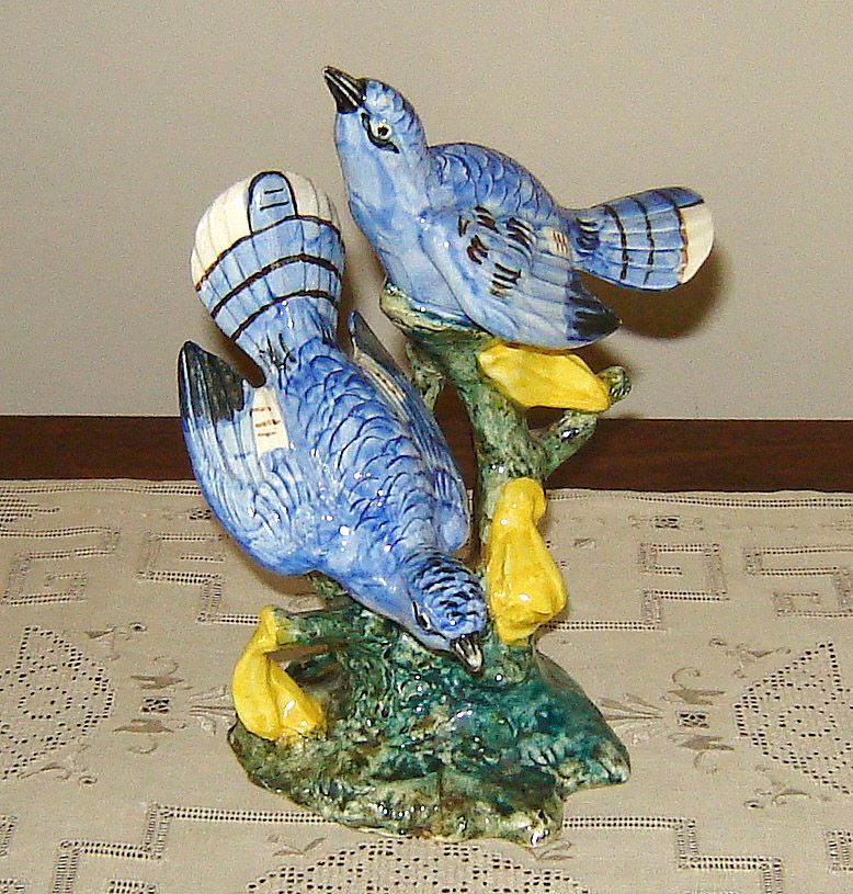 Stangl Hand-Painted Pottery Birds Figurine