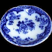 English Meakin Flow Blue China Butter Pat