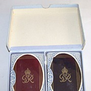 "Double Deck De La Rue ""King George VI"" Royal Family Playing Cards, Gift of King George VI"