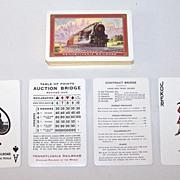 "USPC ""Pennsylvania Railroad"" Playing Cards, c.1930"