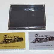 """Double Deck """"Soo Line"""" Railroad Playing Cards, Commemorative 100th Anniversary Engine No.1"""